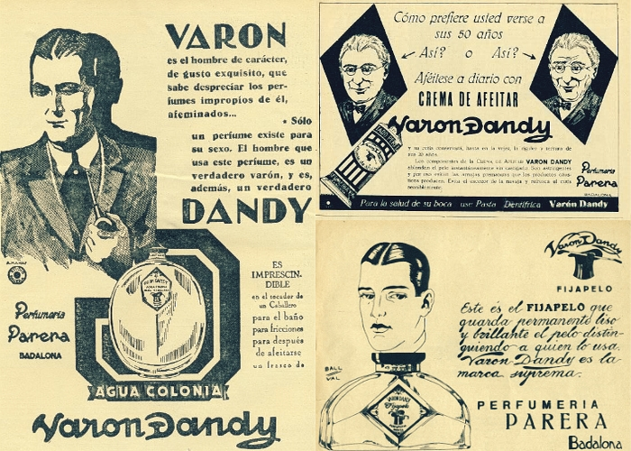 varon dandy antiguo